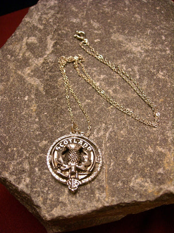 Clan Crested Pendant
