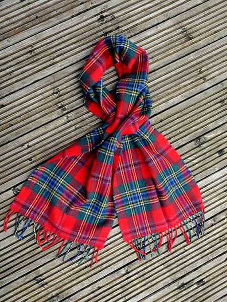 Clan Tartan Tie Weight Scarves