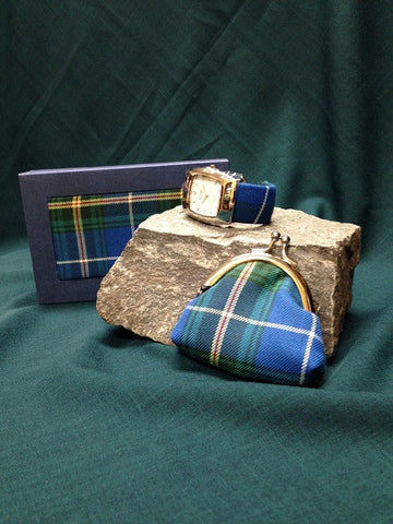 Nova Scotia Tartan Watch and Coin Set