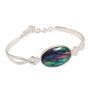 Heathergem Twist Bangle