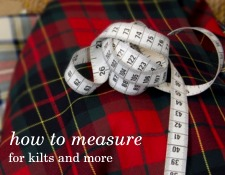 Easy to follow measurement guide from The Plaid Place, Halifax