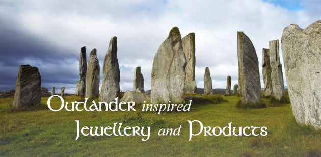 Hard to find and unique Outlander jewellery...