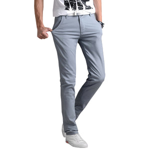 Classic Straight Slim Fit Casual Pants