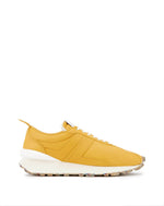 YELLOW NAPPA LEATHER BUMPR SNEAKERS