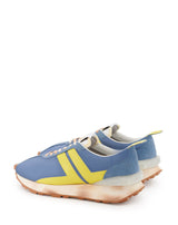 WOMEN LIGHT BLUE NYLON BUMPR SNEAKERS
