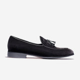 SUEDE DRESS SHOES BLACK - Top Dress Shoes - OPP Official Store (OPP France)