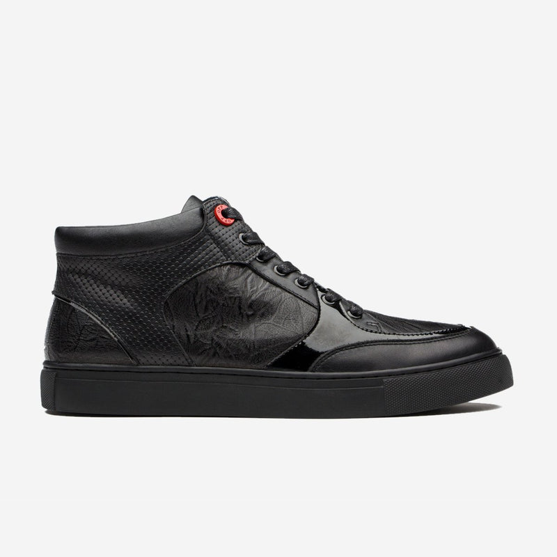 HIGH TOP SHOES BLACK - Top High-top Shoes - OPP Official Store (OPP France)