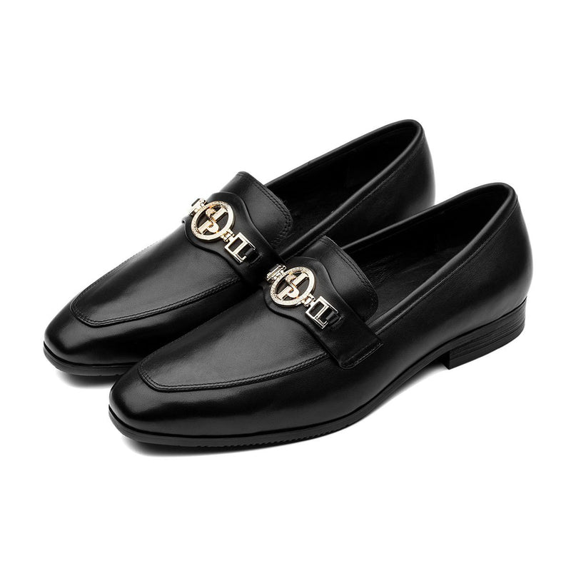 METAL DRESS SHOES BLACK - Top Dress Shoes - OPP Official Store (OPP France)