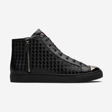 HIGH-TOP ZIP SHOES BLACK - Top High-top Shoes - OPP Official Store (OPP France)