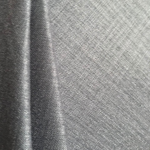 Bright Grey Plain Cotton Matka Fabric