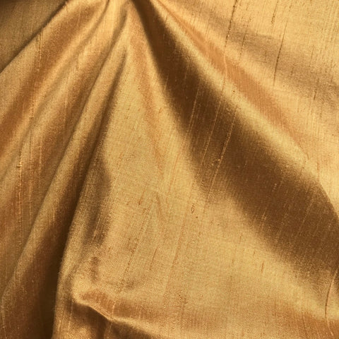 Light Beige Plain Raw Silk Fabric