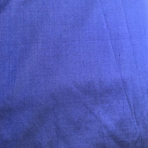 Royal Blue Plain Doupion Silk Fabric