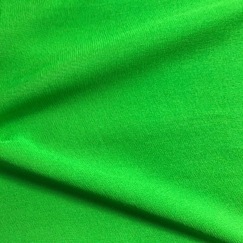 Parrot Green Plain Georgette Fabric