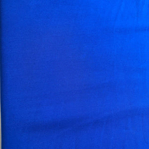Royal Blue Plain Georgette Fabric