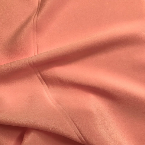 Pastel Peach Plain Fabric