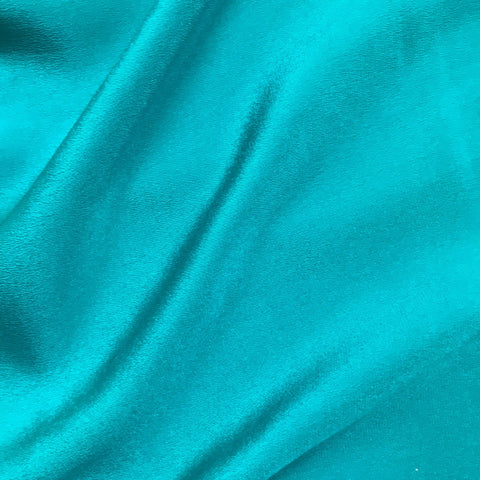 Sea Blue Plain Fabric