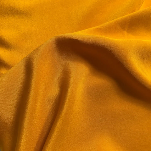 Mustard Yellow Plain Fabric