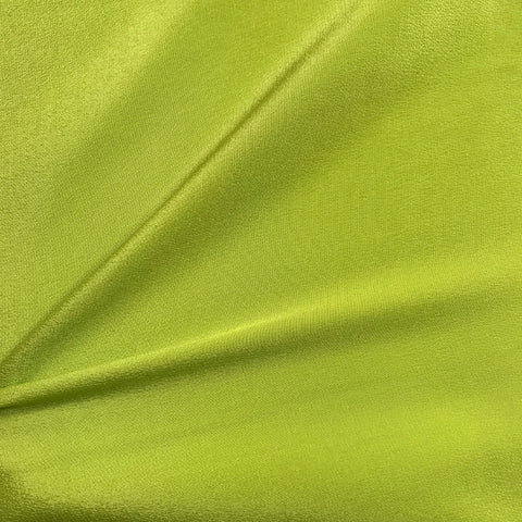 Parrot Green Plain Fabric