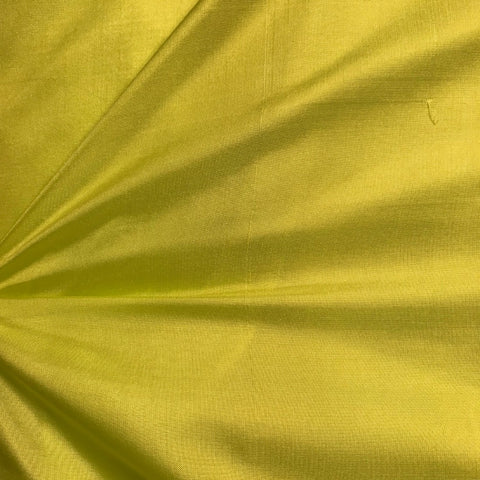 Dark Pista Plain Pure Silk Fabric