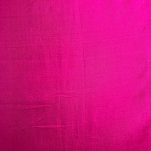 Princess Pink Plain Pure Silk Fabric