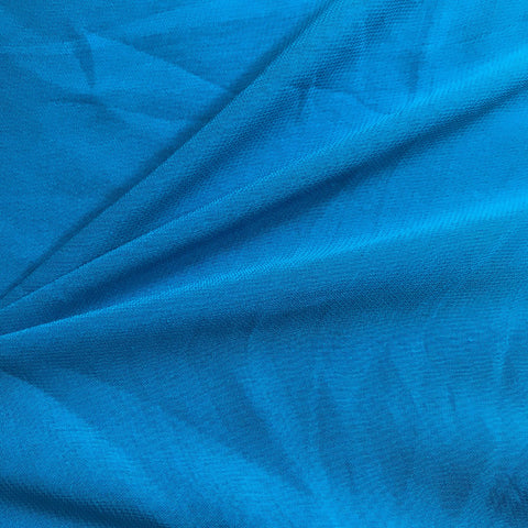 Sky Blue Plain Viscose Georgette Fabric