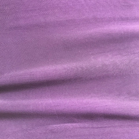 Purple Plain Viscose Georgette Fabric