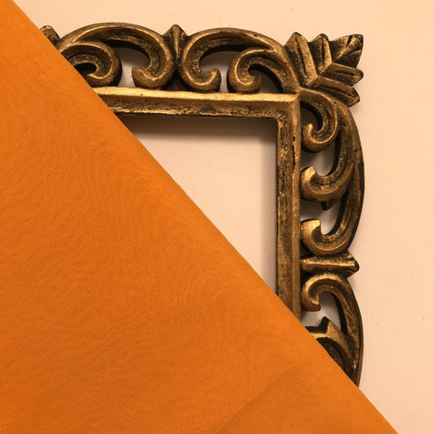 Rusty Orange Plain Viscose Georgette Fabric