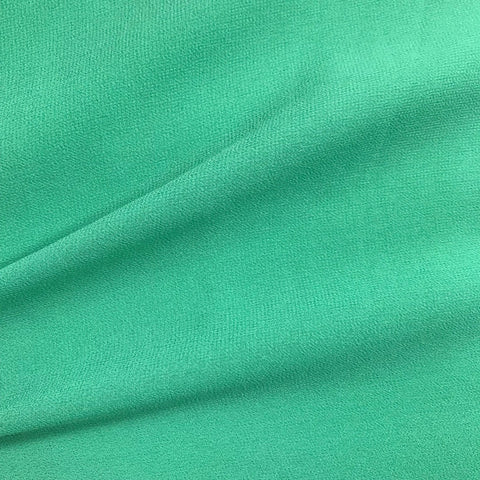 Sea Green Plain Viscose Georgette Fabric