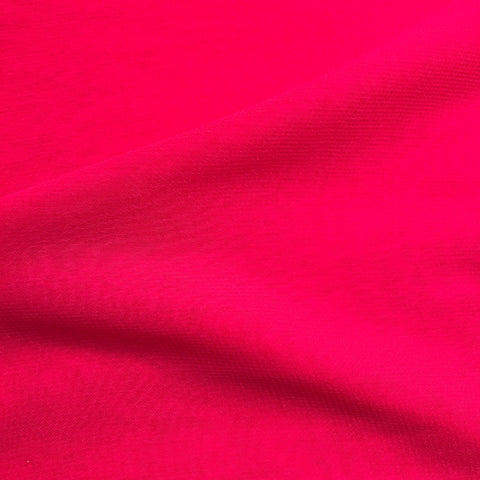 Princess Pink Plain Viscose Georgette Fabric