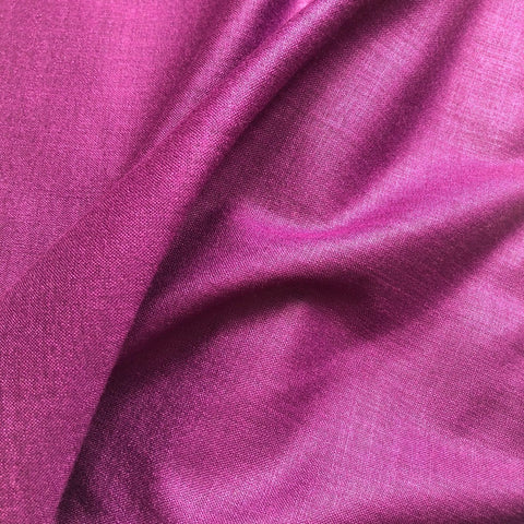 Light Purplish Wine Plain Cotton Matka Fabric