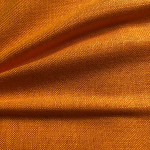Ochre Yellow Plain Cotton Matka Fabric