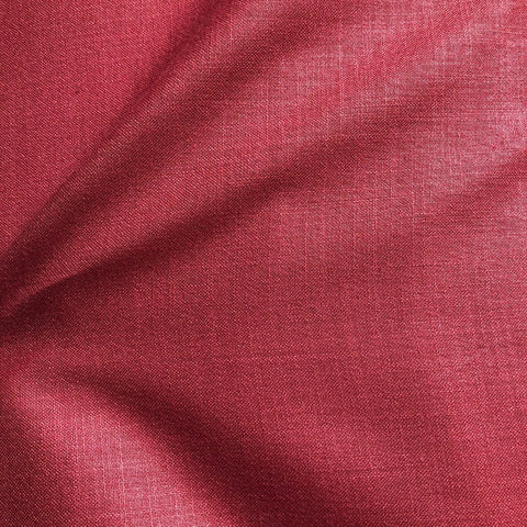 Maroon Plain Cotton Matka Fabric