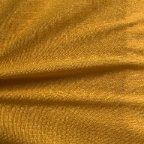 Bright Yellow Plain Cotton Matka Fabric