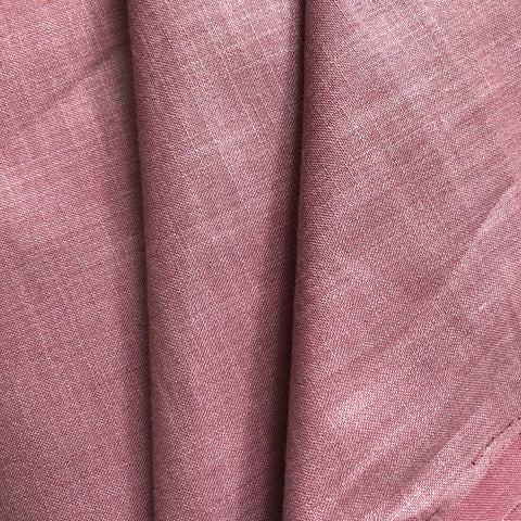 Light Purple Plain Cotton Matka Fabric