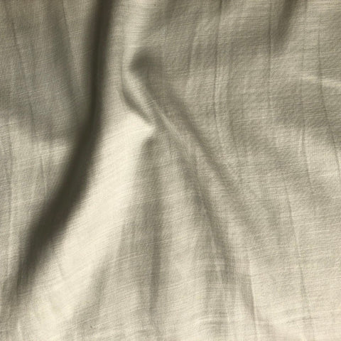 Light Grey Plain Satin Linen Fabric