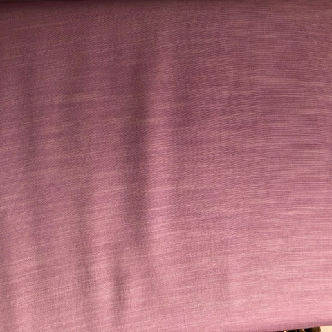 Baby Pink Plain Satin Linen Fabric