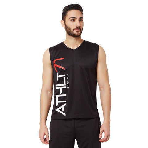 Athlete Men's Tank Top V Neck