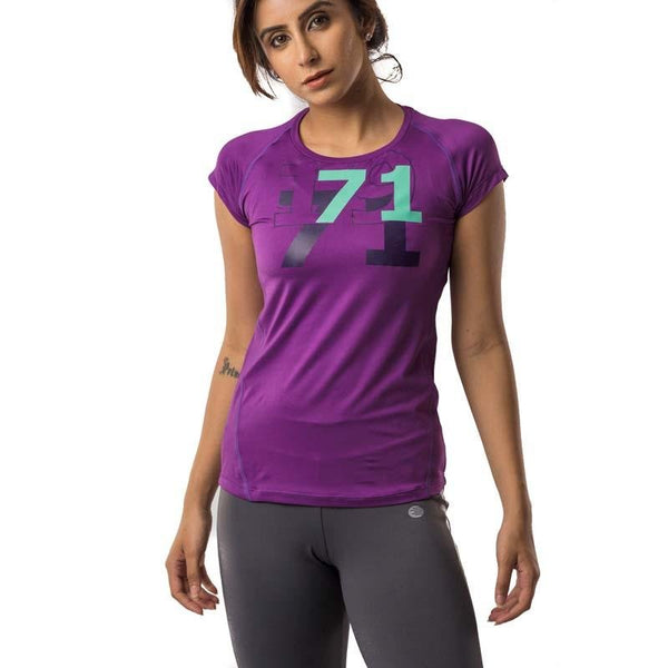 Women's Hyperstretch Numberline Tee - Athlete Sportswear