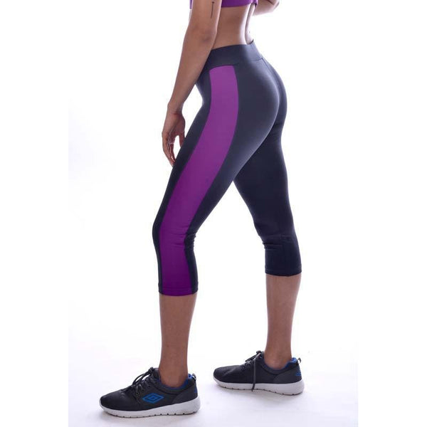Women's Side Panelled 3/4Th Tights - Athlete Sportswear
