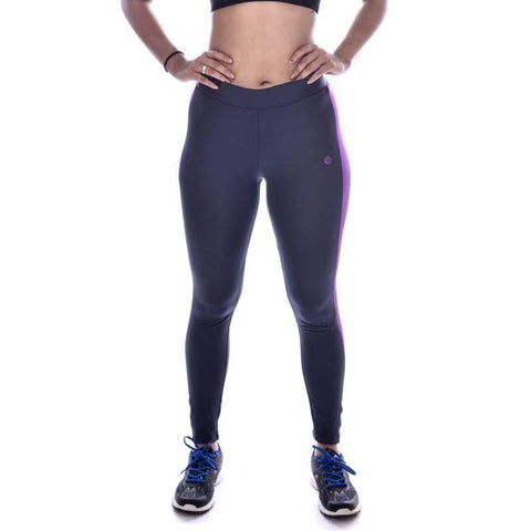 Women's Side Panelled Full Length Leggings - Athlete Sportswear