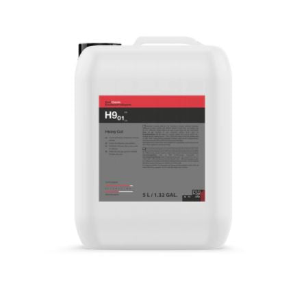 Koch Chemie Heavy Cut H9.01 Coarse Polishing Compound 5000 ml  / 169 oz