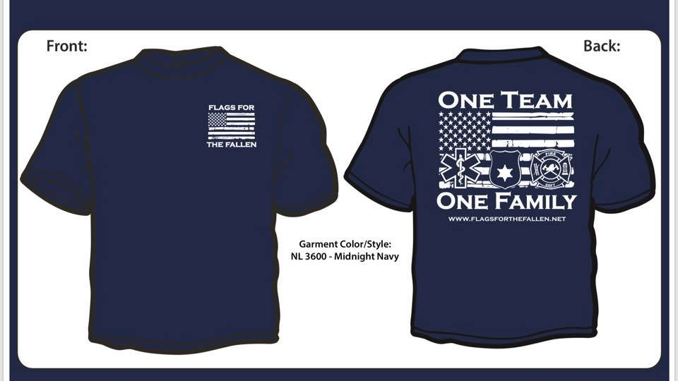 One Team One Family Short Sleeve Shirt