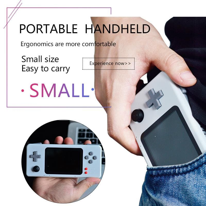 Retro CM3 Raspberry Pi Handheld Video Game Console With 15000 Games Support Netplay (Coupon code:EKX5R8MYJ658, only 3 days)