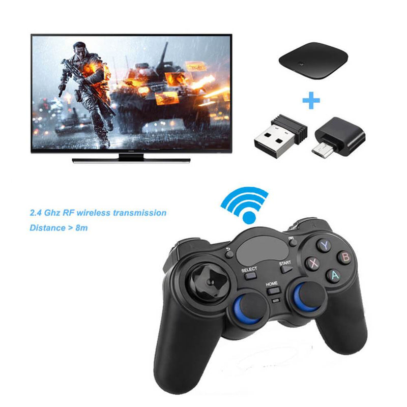 2.4G Wireless Analog Cotroller For Android TV Box /PC /Android phone