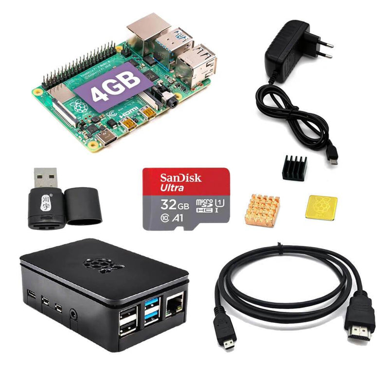 Raspberry Pi 4 Model B Kits