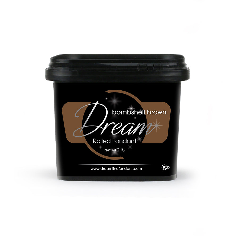 dream fondant bombshell brown fondant