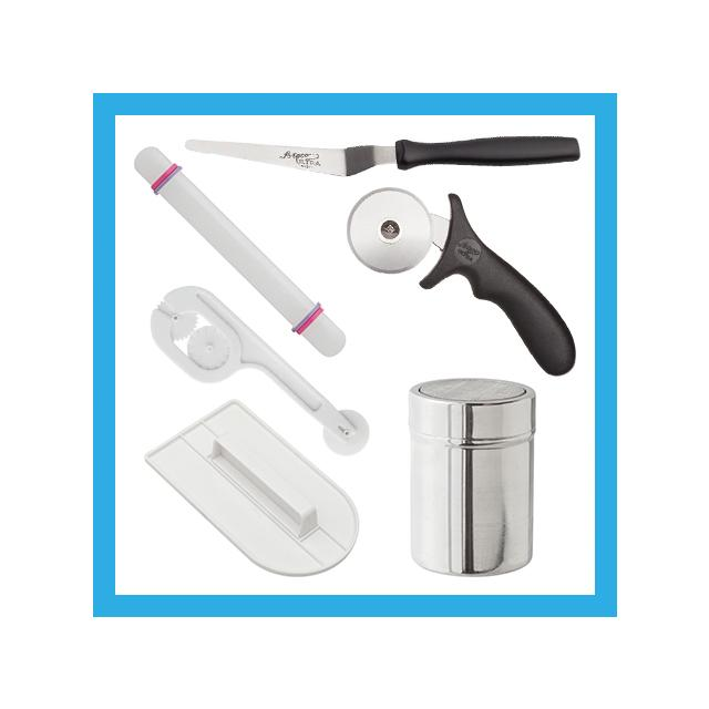 Ateco Fondant Beginners Tool Set - Satin Ice