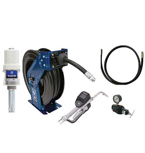 Fluid Handling Equipment for Oil, Grease, Lubricants & Other Automotive Style Fluids