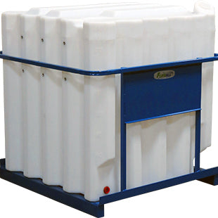 Bulk Oil Tanks with Steel Mobile Frame
