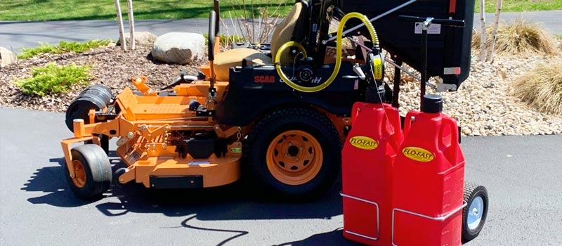 FLO-FAST Fuel Transfer for Lawn and Garden